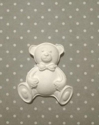 Orso in gesso ceramico