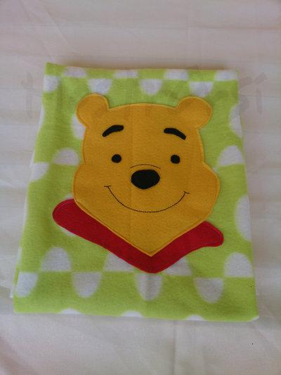 copertina culla Pooh in pile