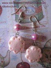 Orecchini Biscotto - pink