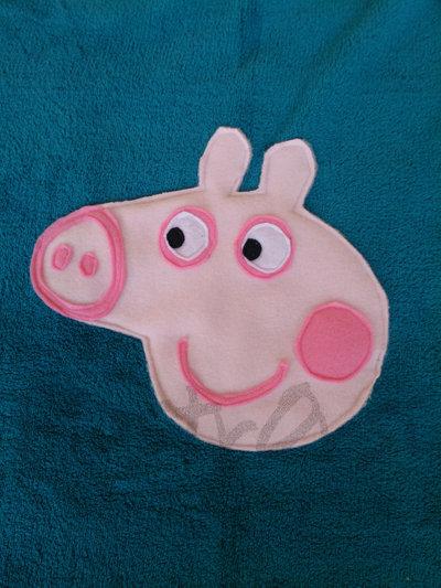 copertina culla George Pig in pile