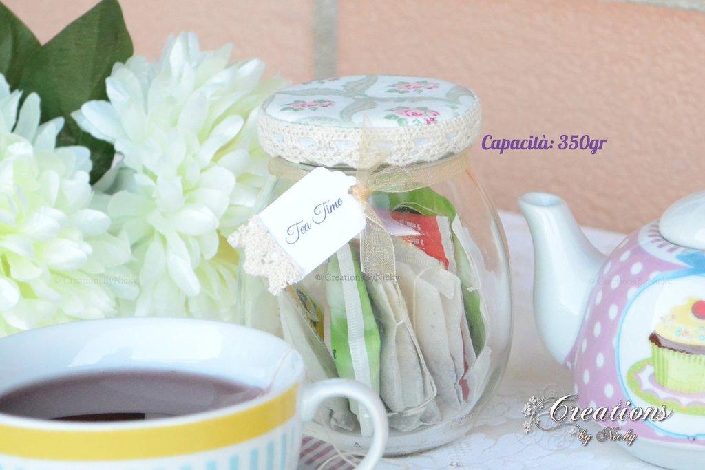 Barattolino Shabby Tea Time