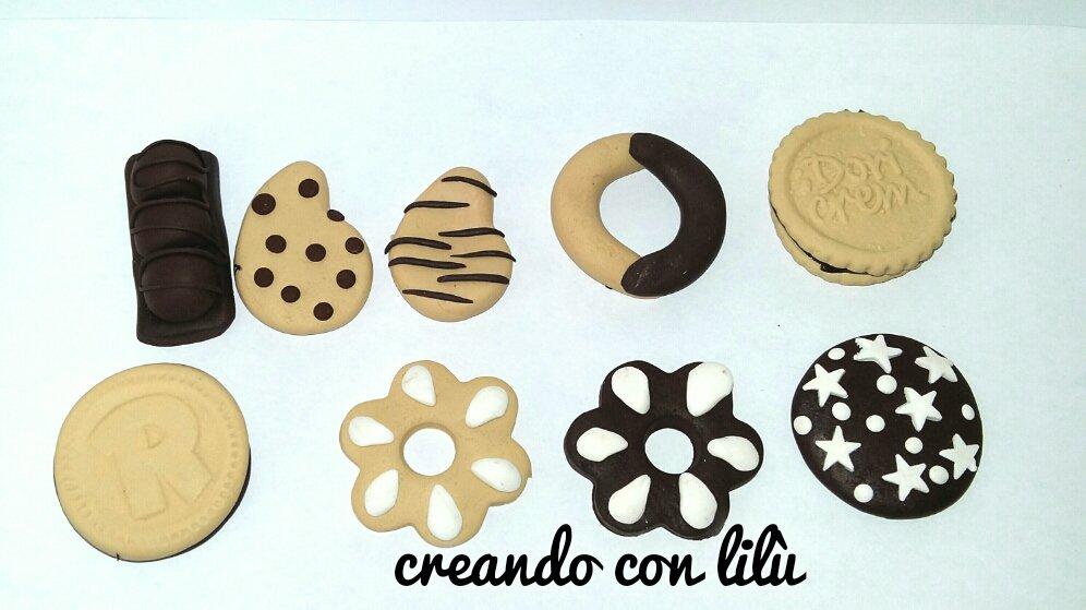 magnete biscotto in fimo misura cm5