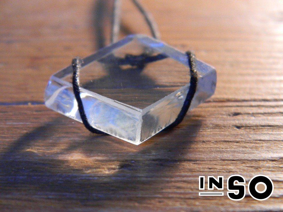 Collana di vetro riutilizzato