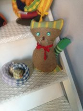 fermaporta gatto iuta