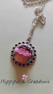 Collana con cupcake