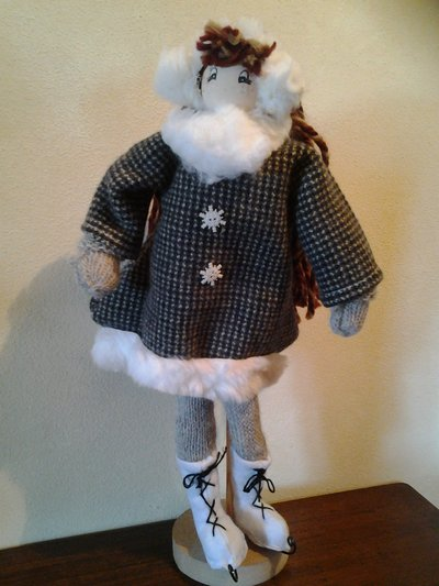 Bambola sui pattini
