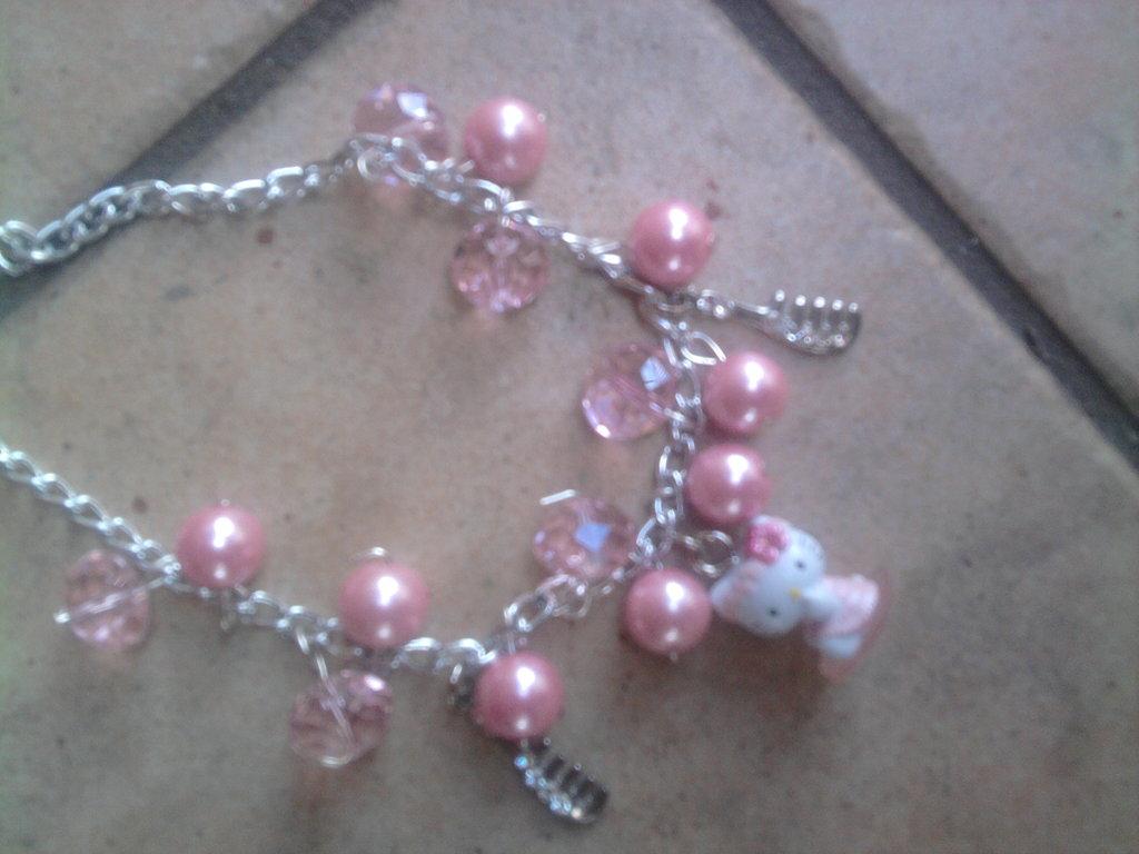 Bracciale HELLO KITTY light pink