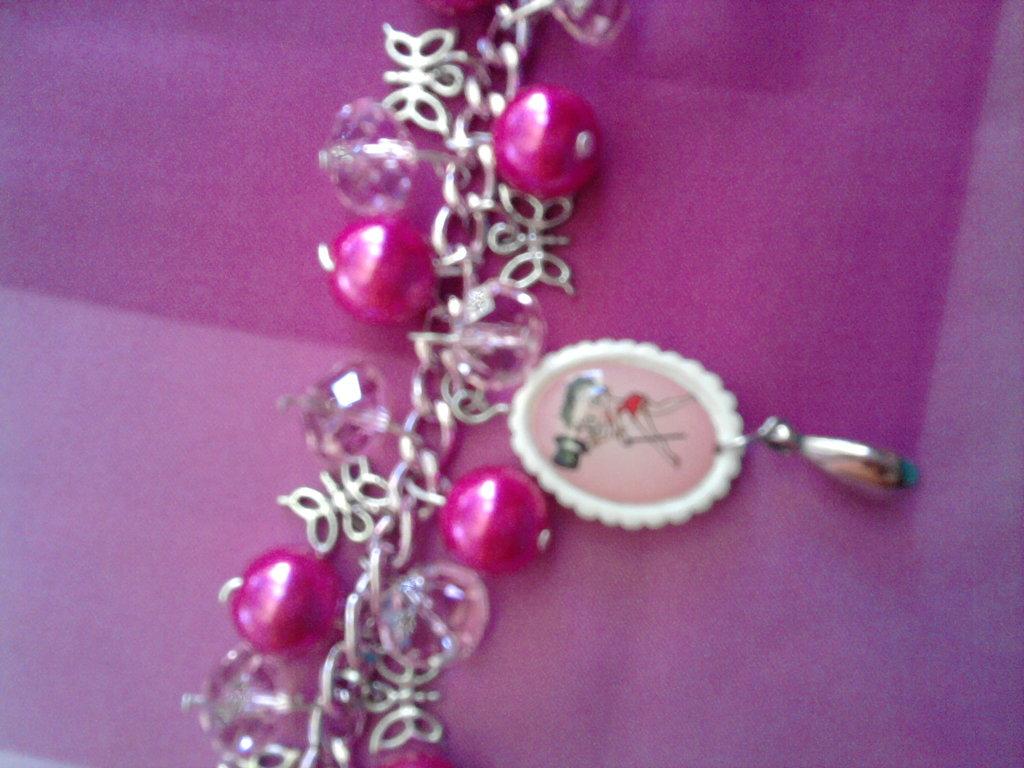 Bracciale BETTY BOOP con perle