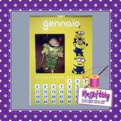 Calendario personalizzato Minions
