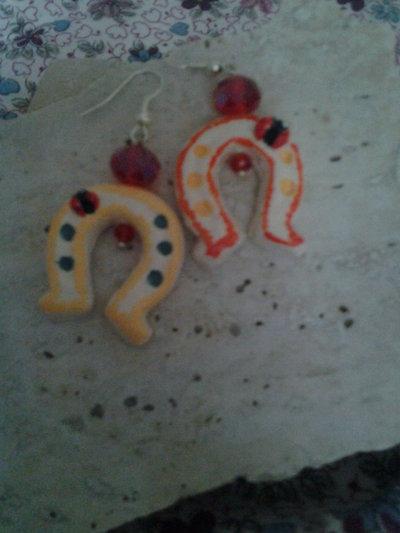 orecchini ferri di cavallo