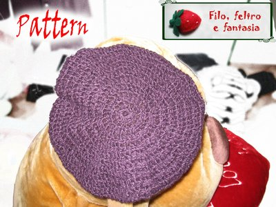 Pattern basco uncinetto - crochet