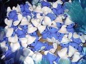 stock puffi completi di toulle confetti e bigliettino