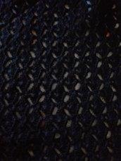 Sciarpa lana all'uncinetto