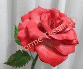 Rosa Rossa - Forme Tessili 3D