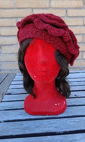 Cuffia cappello fiore