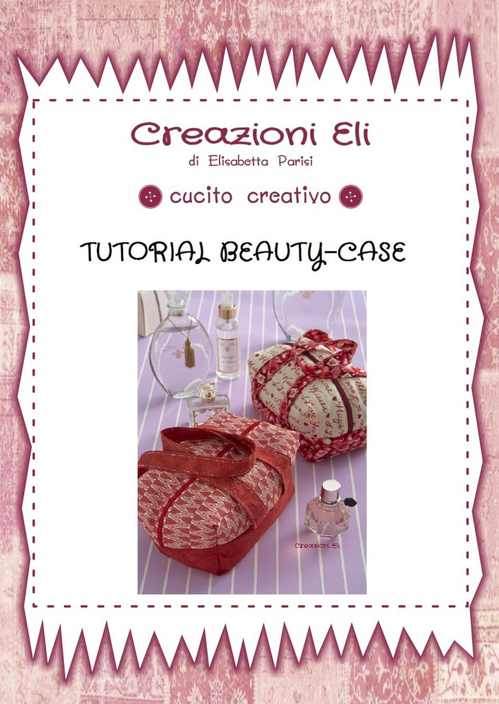CARTAMODELLO DEL BEAUTYCASE