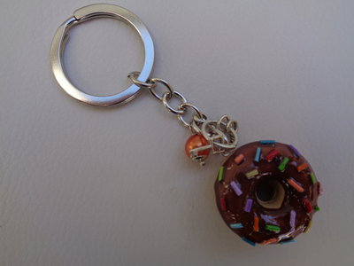 Portachiavi donuts multicolor