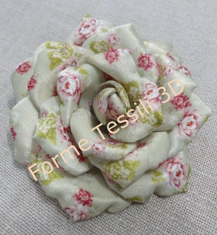 Rosa vintage salvia - Forme Tessili 3D