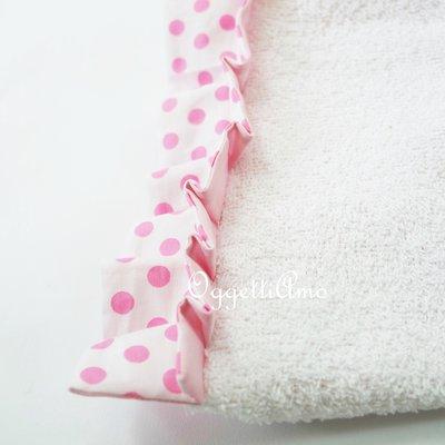 Asciugamano con gala 'Principessa': asciugamani in morbida spugna per accompagnare la tua bambina a scuola!