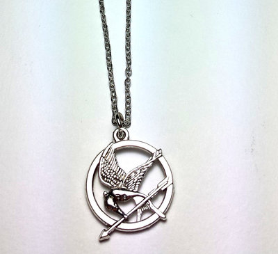 Collana con ciondolo Hunger Games