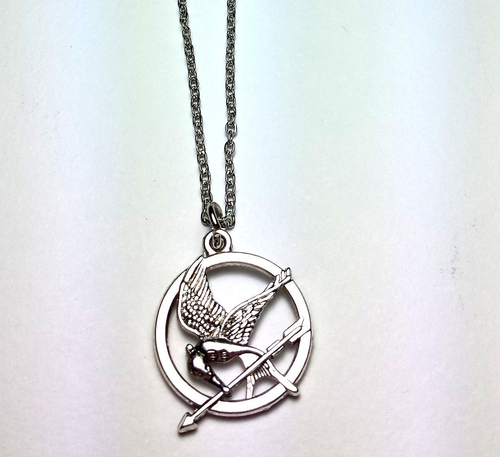 Collana con ciondolo Hunger Games