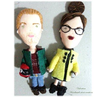Idea regalo San Valentino Bambolina personalizzata