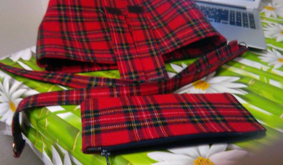 kit scozzese per borsa