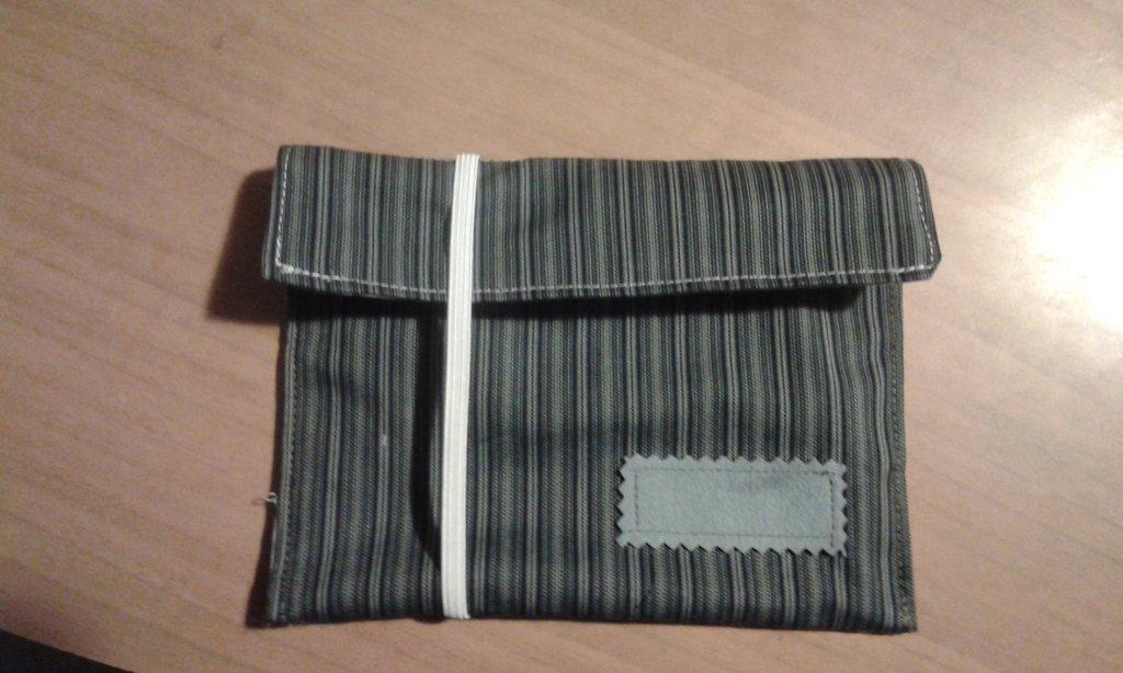 pochette beauty con elastico