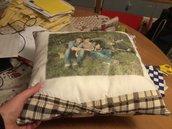 cuscini personalizzati con foto