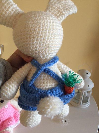 Coniglio Amigurumi Uncinetto : coniglietto amigurumi uncinetto - Per la casa e per te ...