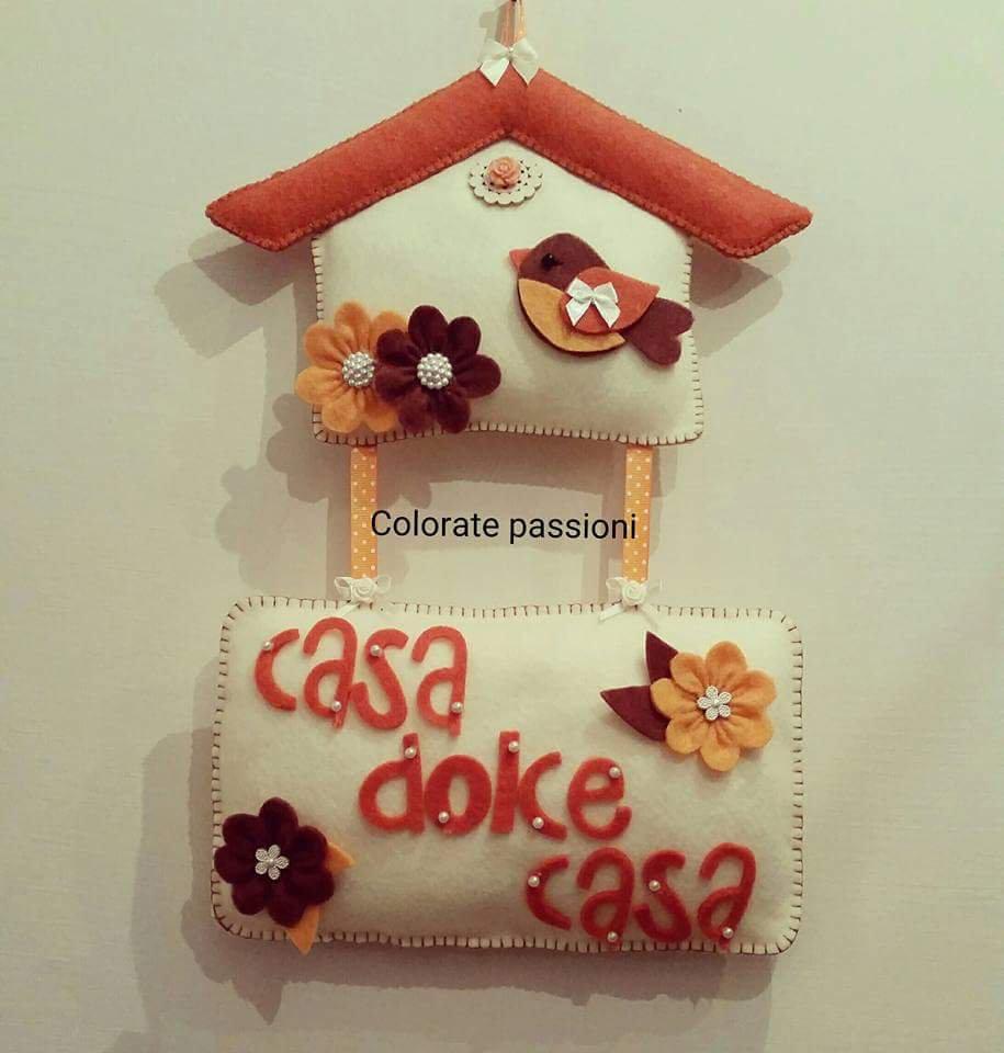 Casa dolce casa in feltro