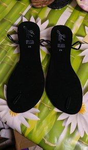 suole sandali uncinetto n 38
