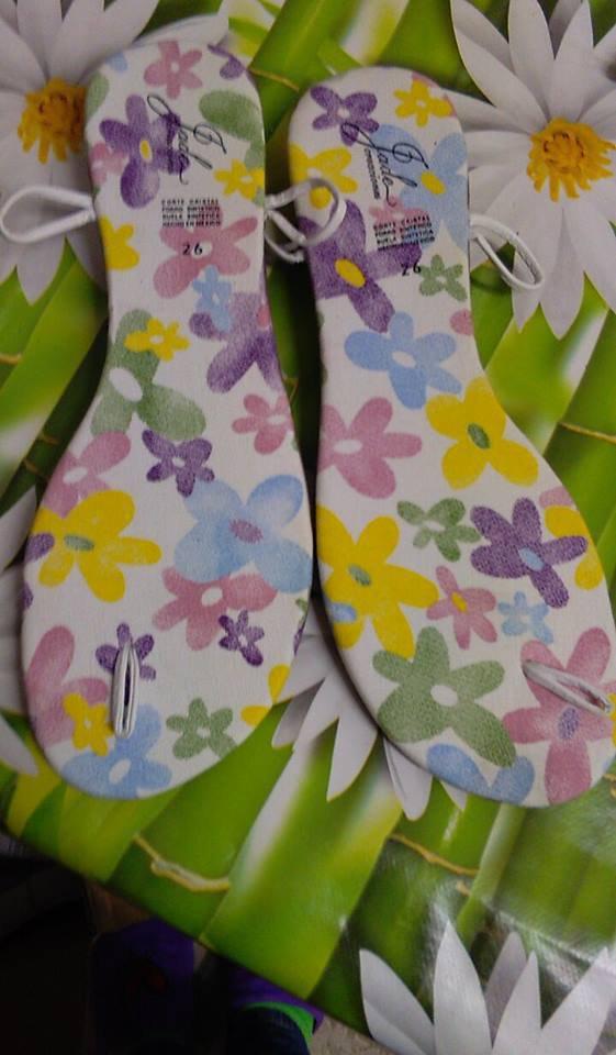 suole sandali uncinetto