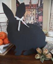 Lavagnetta a forma di coniglio per la cucina o la cameretta