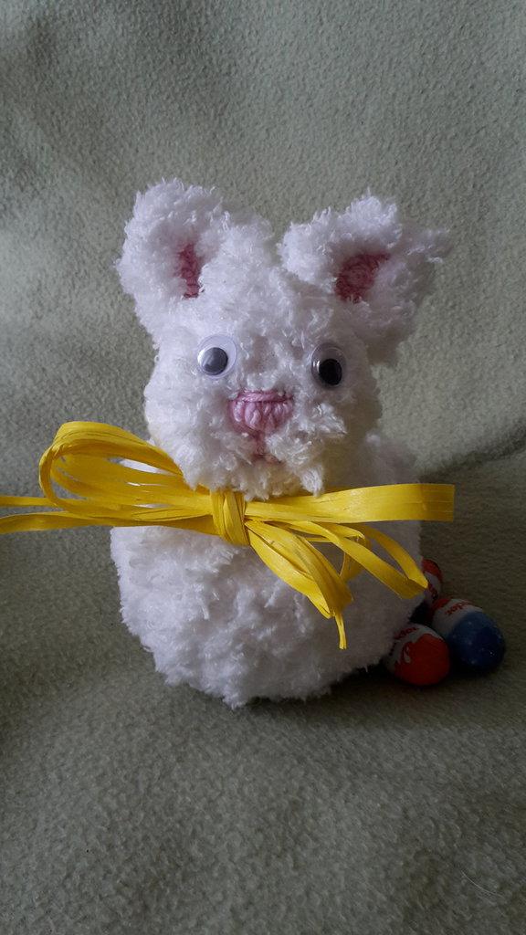 Coniglio bianco morbidosissimo
