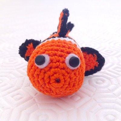 Nemo clownfish with coral crochet pattern pdf Crochet pattern by ... | 400x400