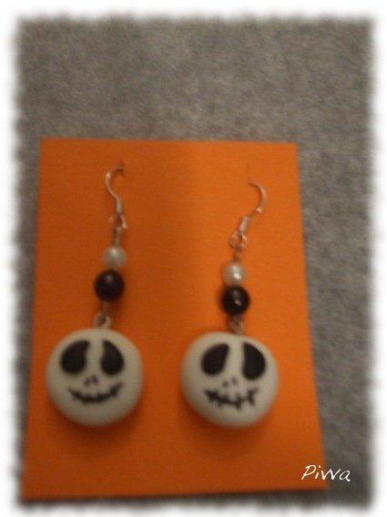Orecchini halloween - Jack Skeletron