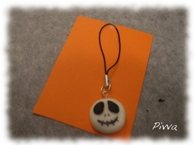 Phone strap halloween - Jack Skeletron