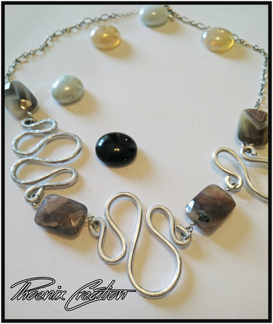collana wire snake