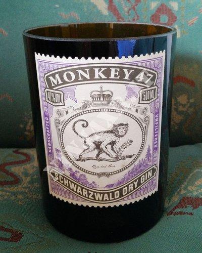 Gin Monkey 47 Vaso artigianale da arredo Bottiglia Vuota