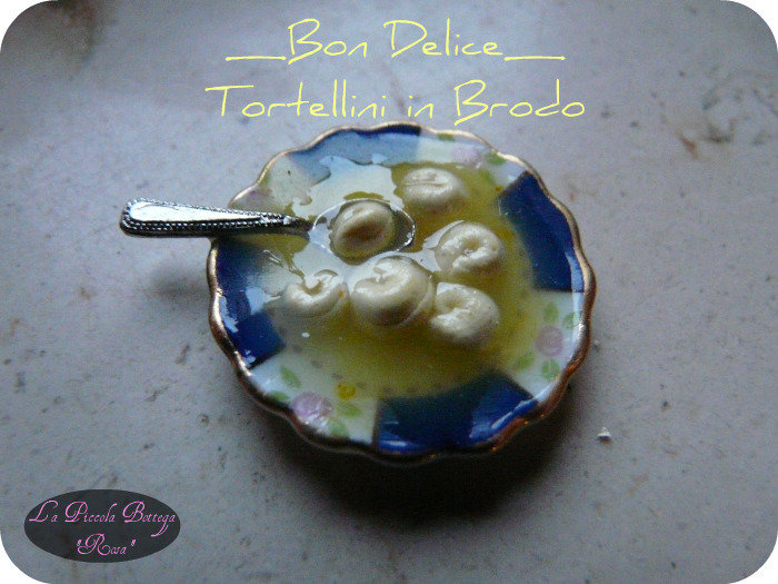 Miniature - Tortelli in Brodo