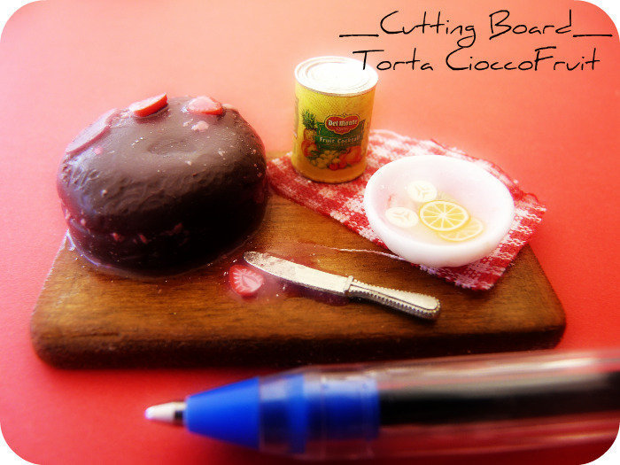 Cutting Board - Torta CioccoFruit
