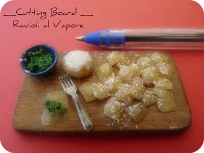 Cutting Board - Ravioli al Vapore