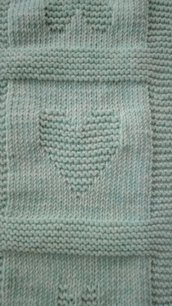 Copertina lana per culla o carrozzina a quadri