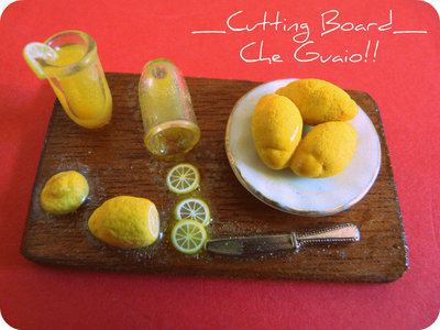 Cutting Board - Che Guaio!