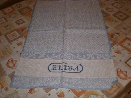 "Asciugamano ""Elisa"""
