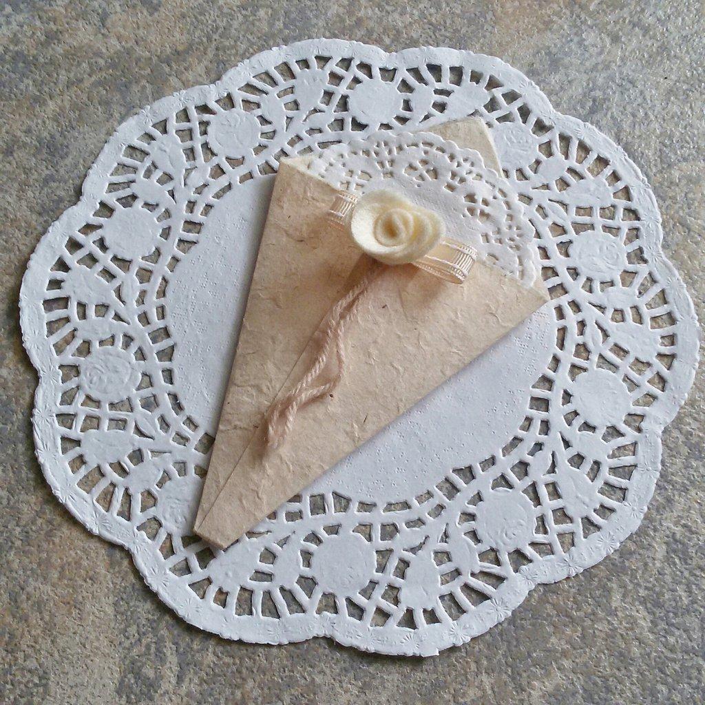 Coni porta riso 25 pz feste matrimonio di genni - Cesto porta coni di riso ...