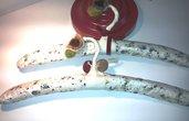 Le anatrucce coppia di grucce decorate a mano
