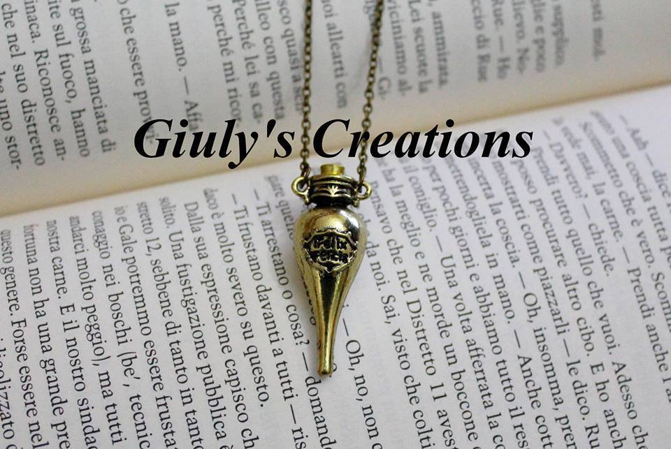 Collana Felix Felicis di HARRY POTTER fortuna liquida Hogwarts Harry Potter HP Hermione Granger pozione