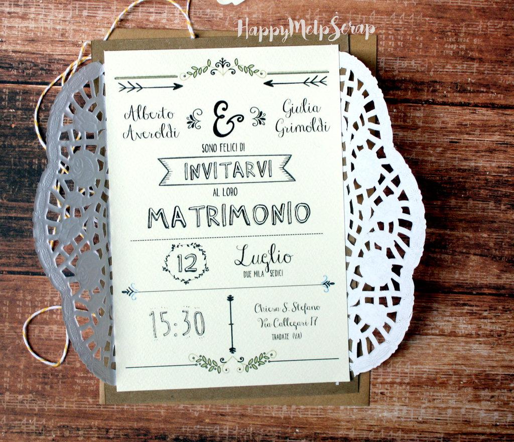 Partecipazioni Matrimonio In Word : Partecipazione di nozze quot florida feste matrimonio